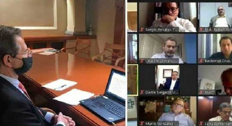 Participa UABCS en encuentro virtual con el titular de la SEP