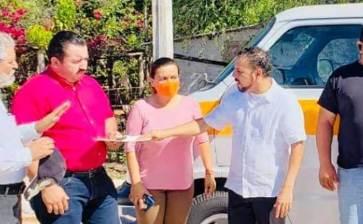 Realiza Senador de MORENA gira por Palo Verde