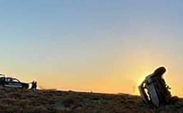 Fatal accidente automovilístico en las dunas Don Miguelito