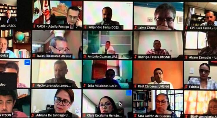 Participa UABCS en encuentro virtual con el titular de la ASF