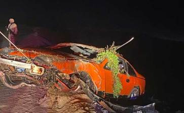 Aparatoso accidente en Mulegé