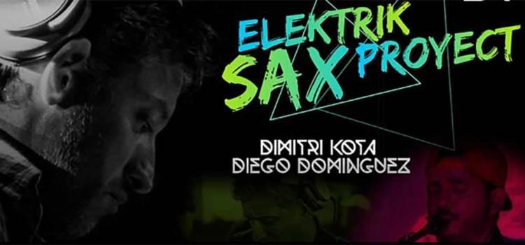 Presentará Dimitri Kota «Elektrik Sax Proyect»