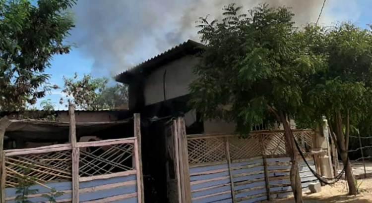 Se incendió vivienda en La Pasión