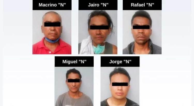 Vinculan a proceso a cinco acusados de despojo con violencia