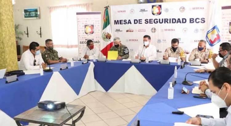 Sesiona Mesa de Seguridad en Vizcaíno