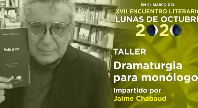 """Participa en """"Dramaturgia para monólogos"""""""