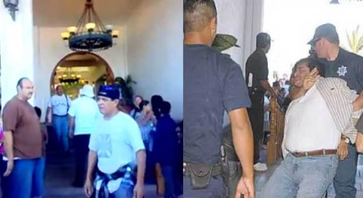 René Olloqui, el responsable del vandalismo en Hotel Los Arcos