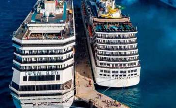 Se alistan cruceros para iniciar travesías