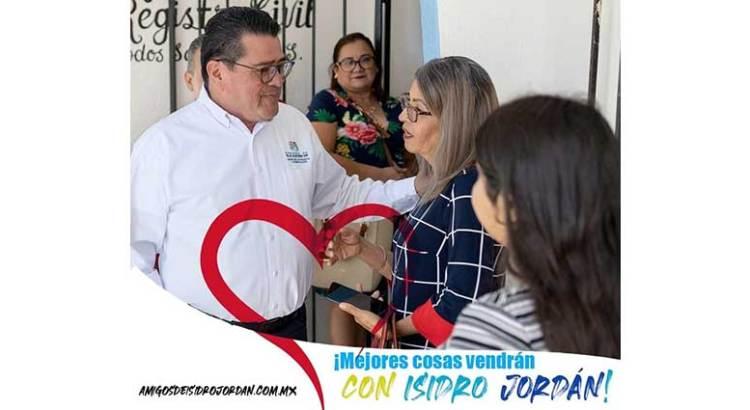 """Se """"adelanta"""" Isidro Jordán"""