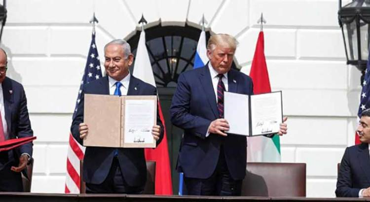 Sella Israel acuerdos históricos con Emiratos Árabes y Bahrein