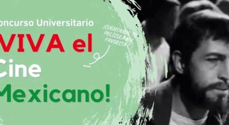"""Invitan a concurso """"Viva el Cine Mexicano"""""""