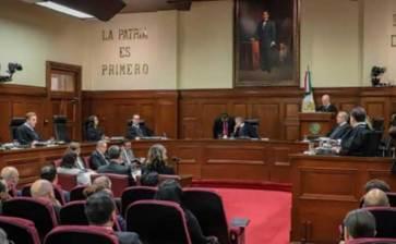 Recibe SCJN solicitud de consulta para juzgar a expresidentes