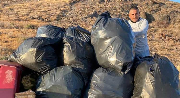 Recolectó ZOFEMAT 68 toneladas de basura en playas