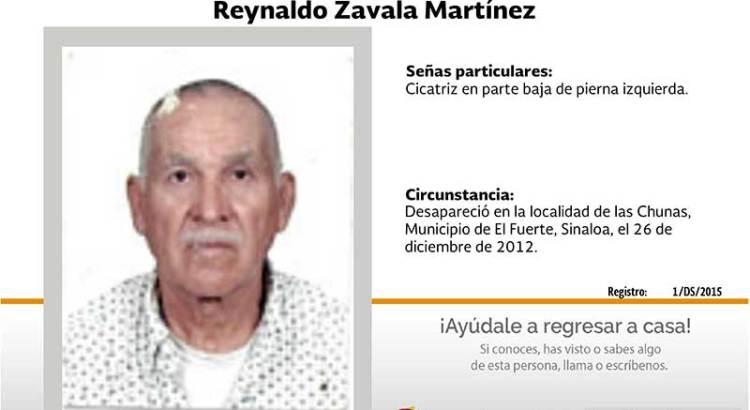 ¿Has visto a Reynaldo Zavala Martínez?