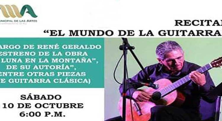 Invitan a recital de guitarra