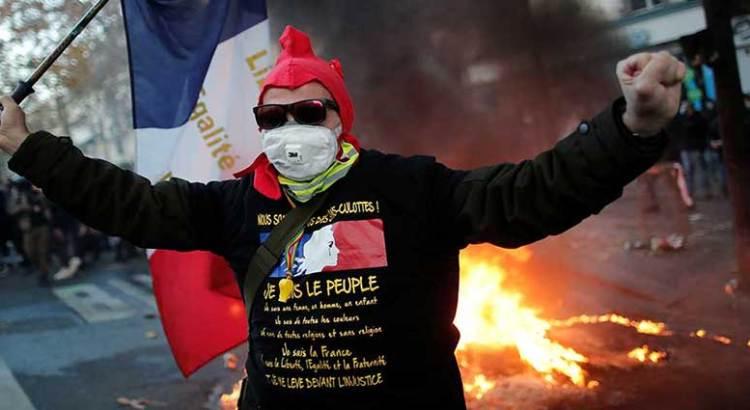 Nuevas protestas en Francia