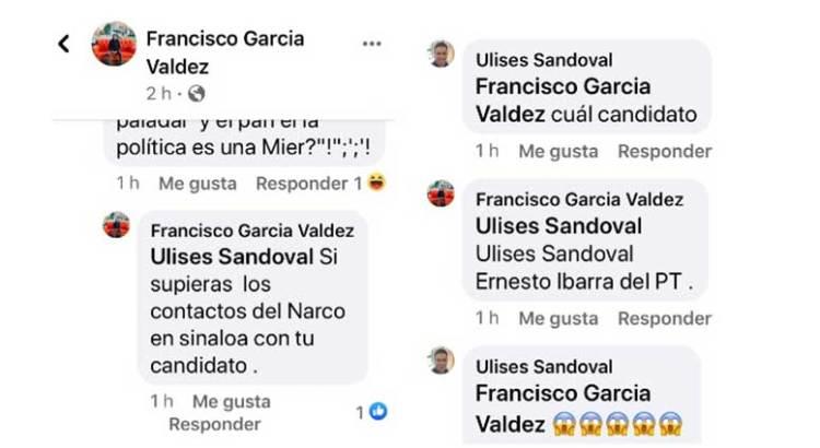 Tiene Ernesto Ibarra contactos con el crimen organizado