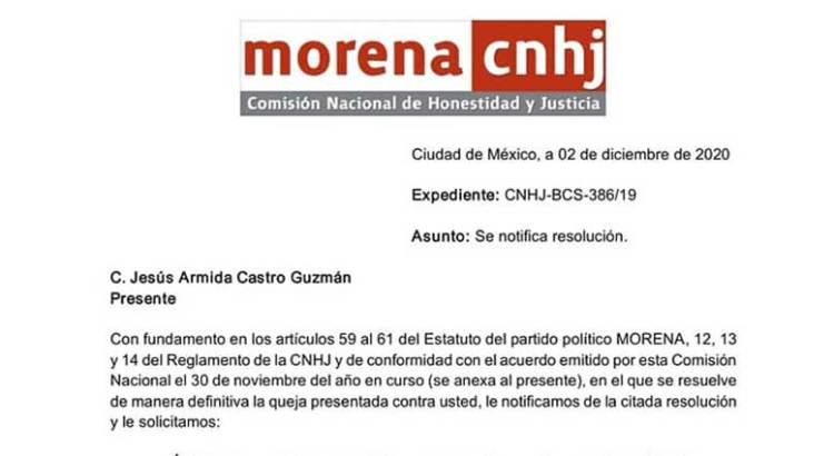 """""""Infundada"""" la acusación de nepotismo contra la Alcaldesa de Los Cabos"""