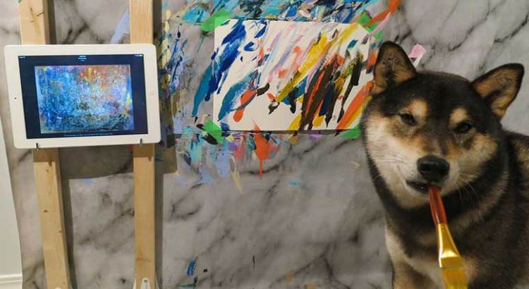 Arte bien perrón