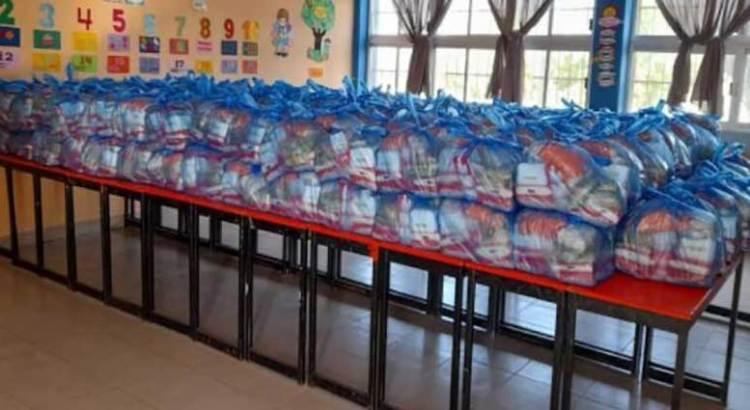 Entrega SEP BCS más de 14 mil paquetes de alimentos saludables