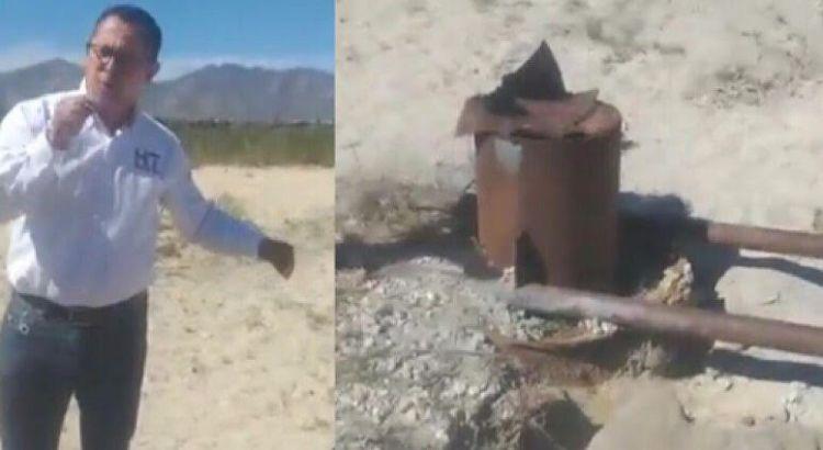 """""""Descubren"""" pozo clandestino que resolvería desabasto de agua en Los Cabos"""