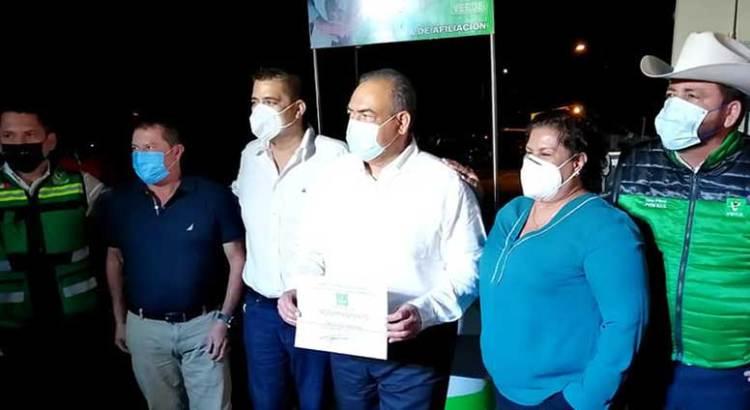 """Dejan Morena los diputados """"Chaky"""" Vanwormer, Guadalupe Moreno y Ortega Pillado"""