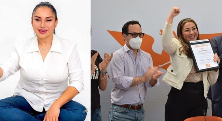 Andrea Geiger y Lavinia Núñez, candidatas naranjas