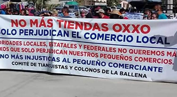 No más Oxxos en La Ballena