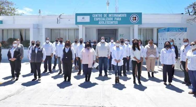 Entrega Gobernador obras de rehabilitación del Centro de Internamiento Especializado para Adolescentes