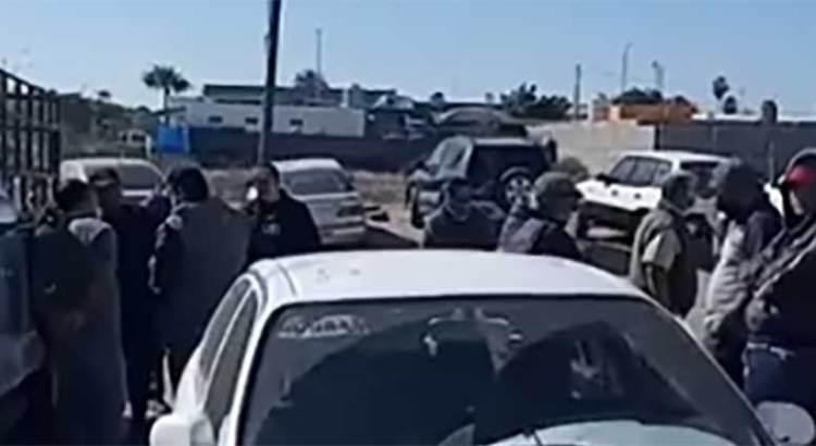 Se manifestaron policías de Comondú