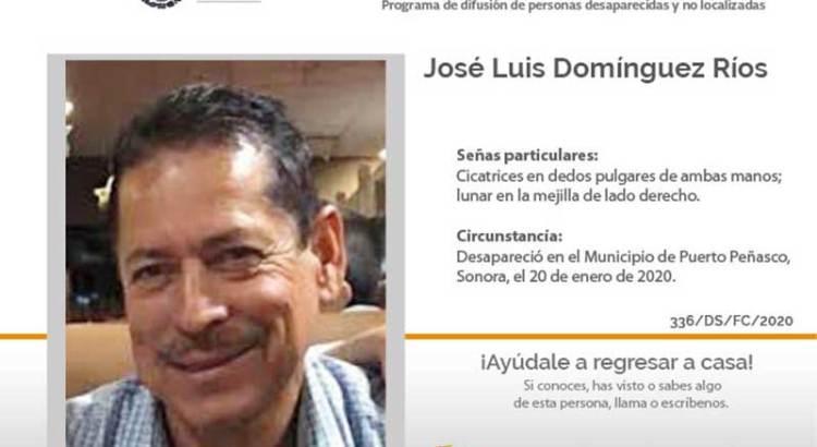 ¿Has visto a José Luis Domínguez Ríos?