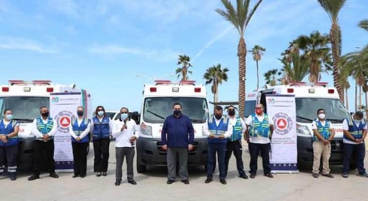 Cuenta Protección Civil de BCS con mejor equipo de atención prehospitalaria
