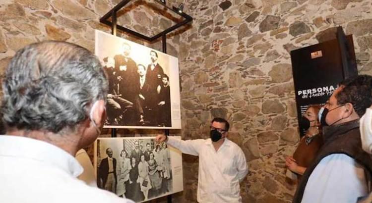 Entrega Carlos Mendoza Casa de la Cultura de El Triunfo