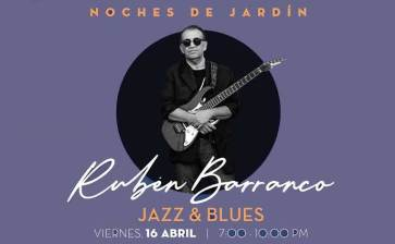 Pasa una velada de blues y jazz