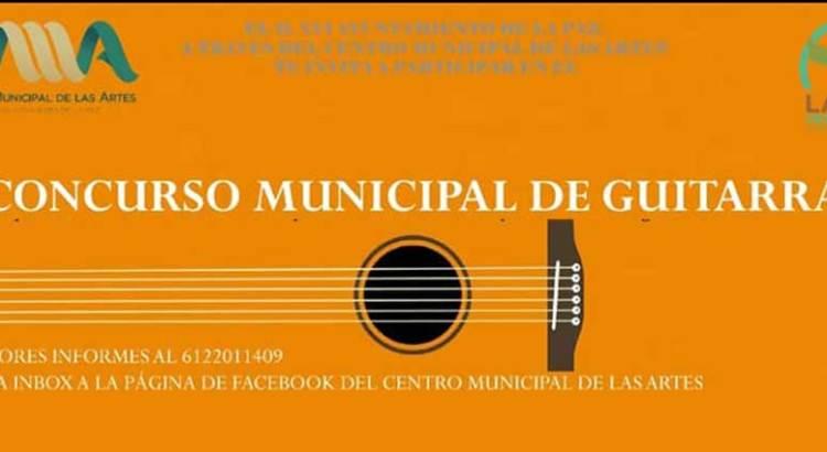 Convocan al Concurso Municipal de Guitarra