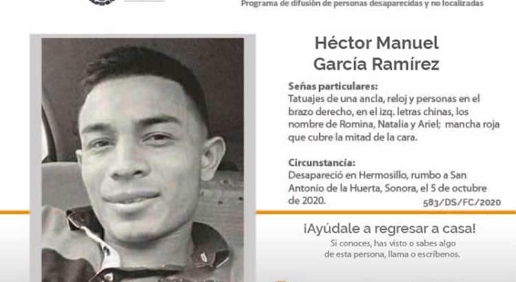¿Has visto a Héctor Manuel García Ramírez?