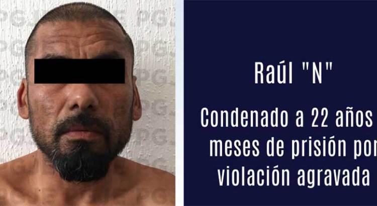 Más de 22 años de cárcel le dieron a violador