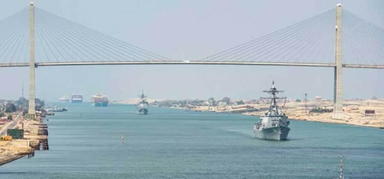 Anuncia Egipto ampliación del Canal de Suez