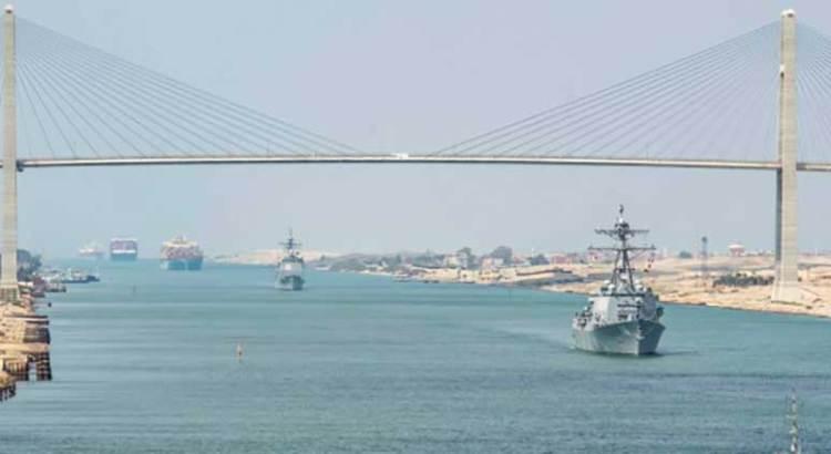 Dan por terminado el atasco en el Canal de Suez