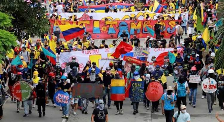 Despliega Presidente de Colombia tropas en Cali