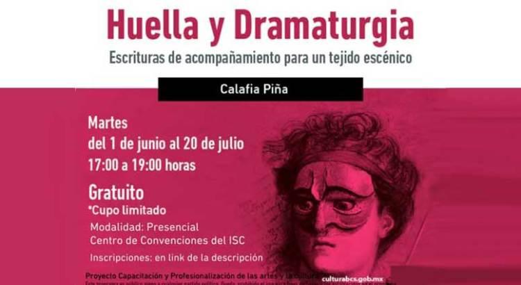 """Invitan al taller «Huella y Dramaturgia"""""""