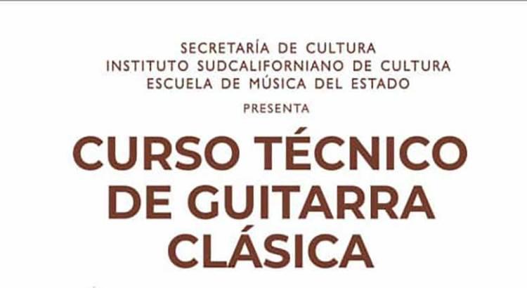 Invitan al Curso Técnico de Guitarra Clásica