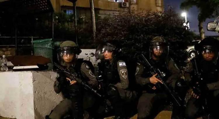Entran soldados israelíes a la Franja de Gaza