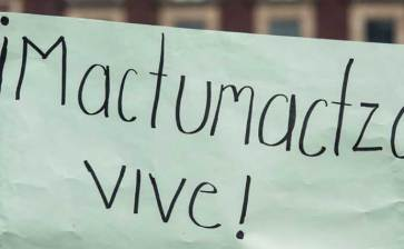 Liberan a 74 mujeres normalistas de Mactumactzá