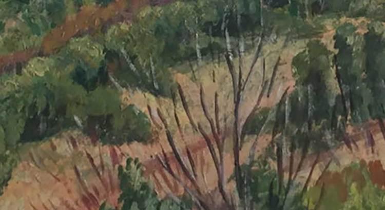 La obra de Manuel Echauri, evocación del paisaje rural