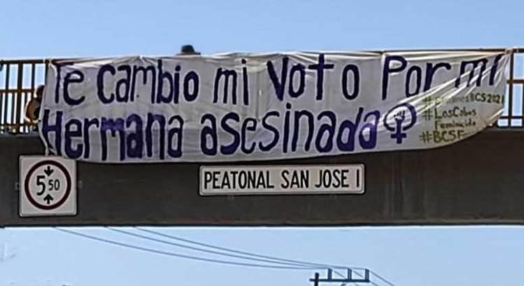 Día de elecciones, Día de protestar contra la violencia hacia la mujer