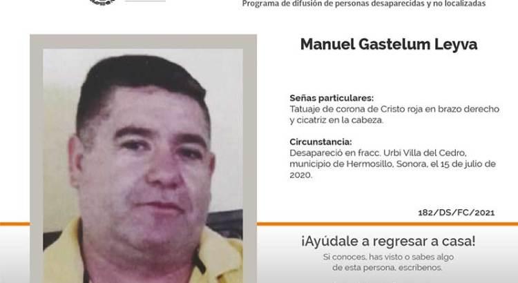 ¿Has visto a Manuel Gastelum Leyva?