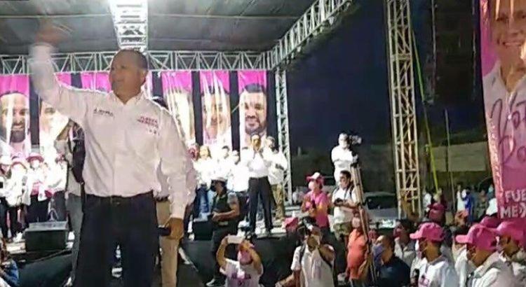 Cerró campaña Ernesto Ibarra