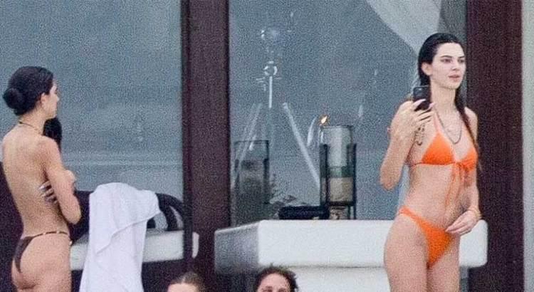 Vacacionan en Los Cabos Kendall Jenner y Hailey Bieber