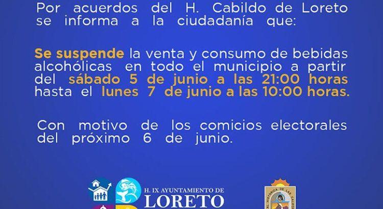 También en Mulegé y Loreto habrá Ley Seca